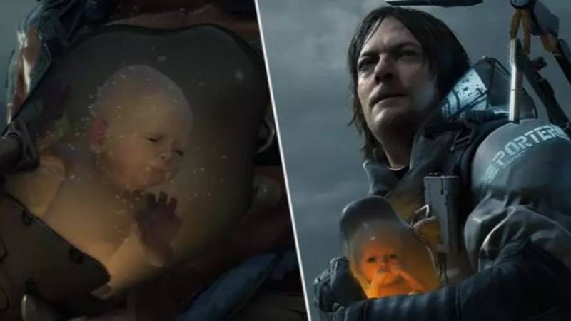 Dad Puts Child In 'Death Stranding'-Style Incubator So You Don't Have To
