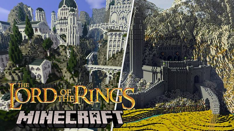 'Minecraft' Players Spend Ten Years Recreating Whole Of Middle-Earth