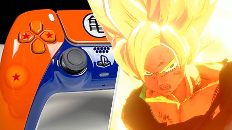 This Dragon Ball Z PlayStation 5 Controller Is Beautiful, And Available Now