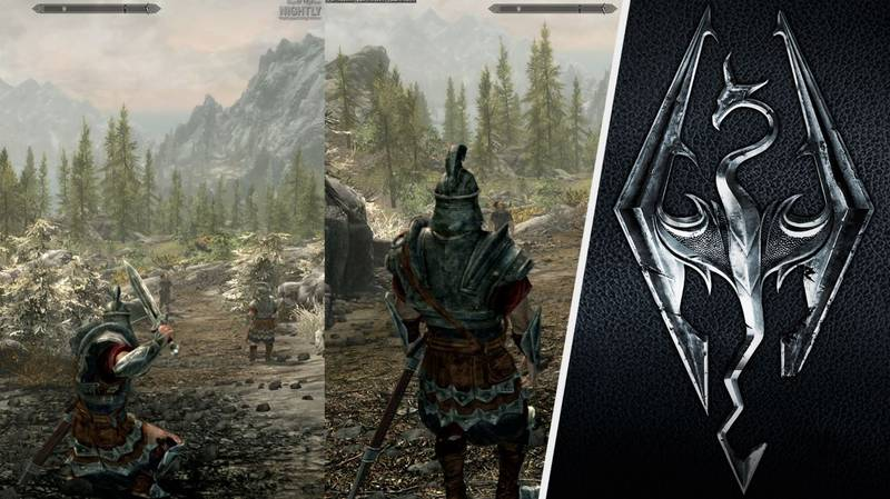 You Can Finally Explore 'Skyrim' With Friends Thanks To Local Co-Op