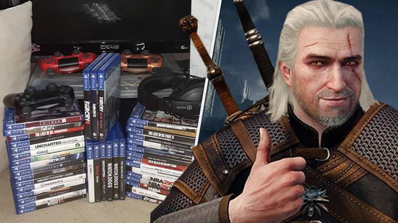 Gamer Gives Away Massive Video Game Collection To Single Mum And Her Two Kids