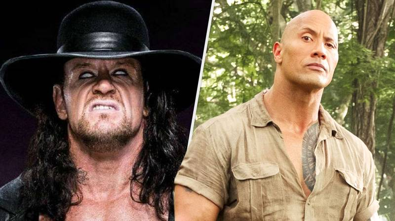 The Undertaker Seriously Just Endorsed The Rock For President