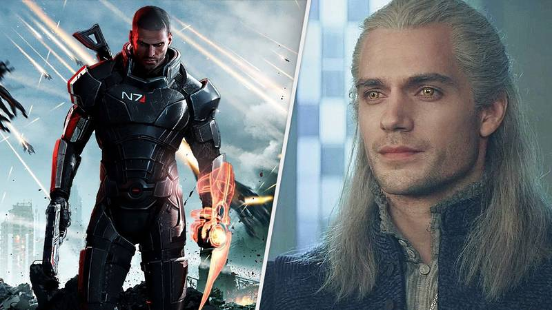 Henry Cavill Is Teasing A Mass Effect Project, And The Internet Has Lost It