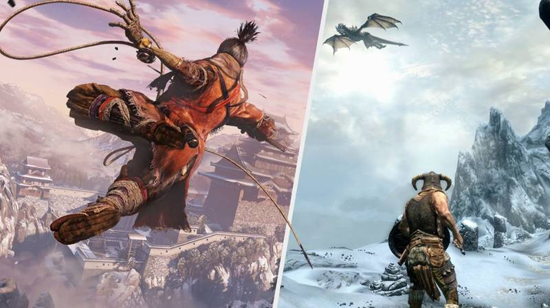 Awesome 'Skyrim' Mod Gives It The Combat Of 'Sekiro: Shadows Die Twice'