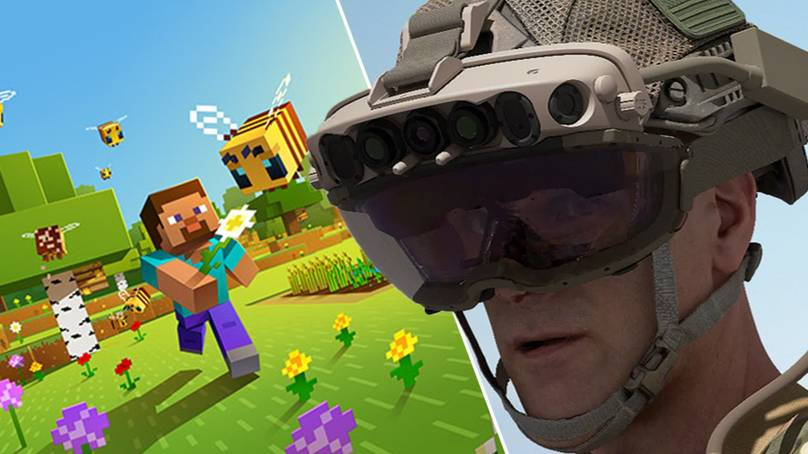 Microsoft Sells $22 Billion Worth Of 'Minecraft' Goggles To The US Military
