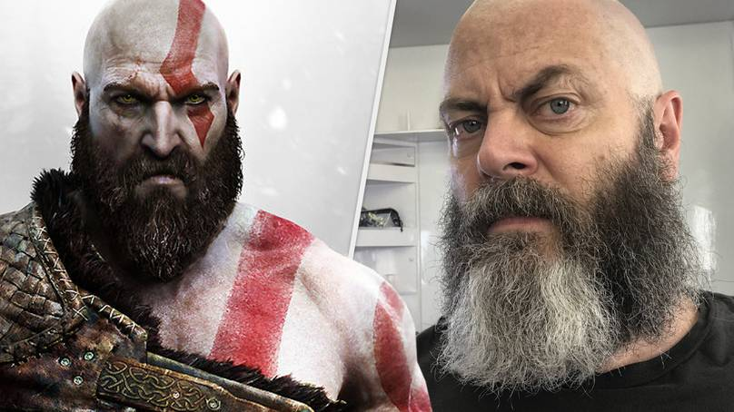 'God Of War' Fans Want Nick Offerman To Play Kratos In Live-Action