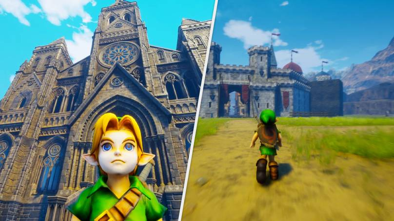 'Ocarina Of Time' Has Been Remade In Unreal Engine, And It's Painfully Beautiful